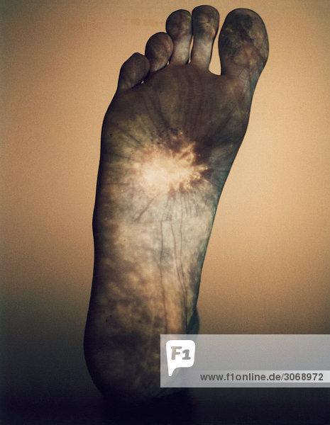 Fußsohle Fußsohle