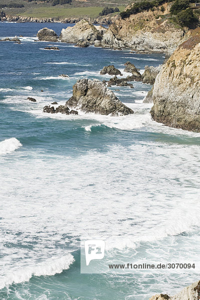 Küstenlandschaft  Big Sur  Kalifornien  USA