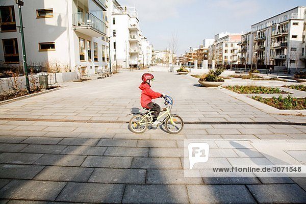 Junge - Person Fahrrad Rad