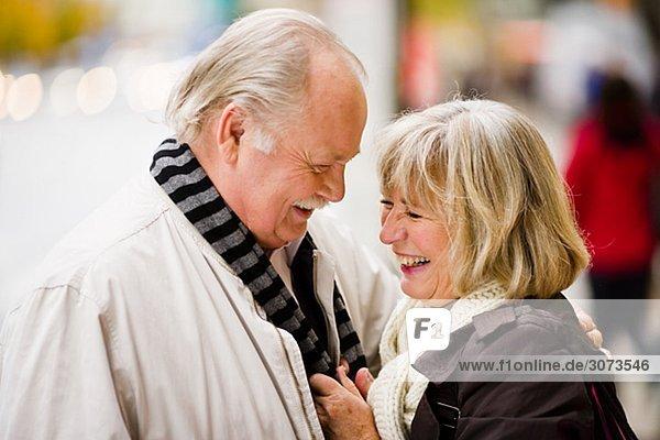 A senior couple Sweden.