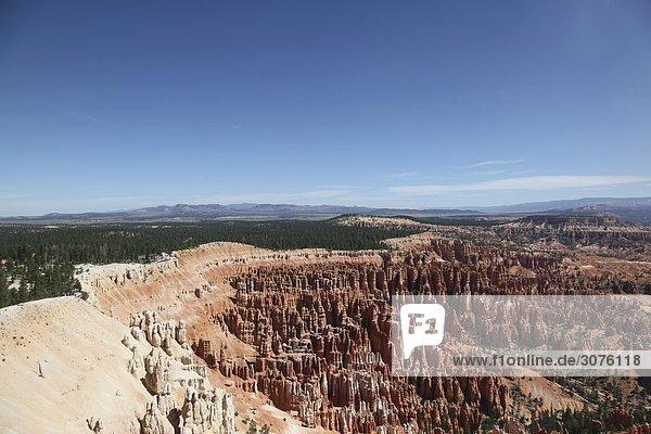 Sicht in den Bryce Canyon