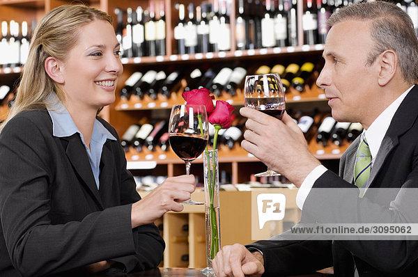 Wein 2 Wirtschaftsperson Business