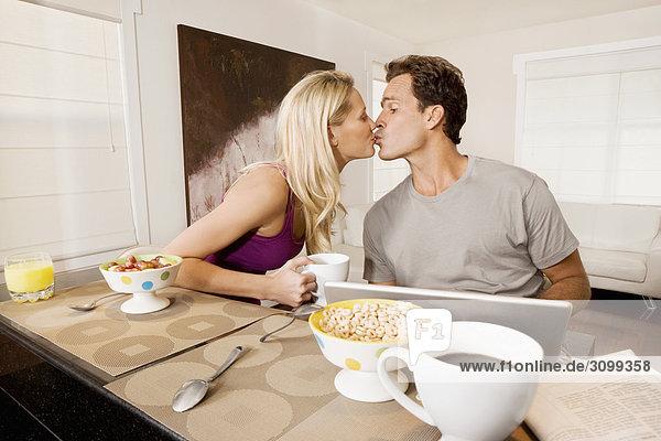 küssen Frühstück