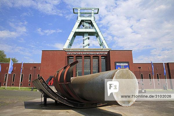 Deutsches Bergbaumuseum  Bochum  Nordrhein-Westfalen  Deutschland