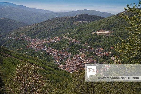 Nationalpark Dorf Italien Sardinien