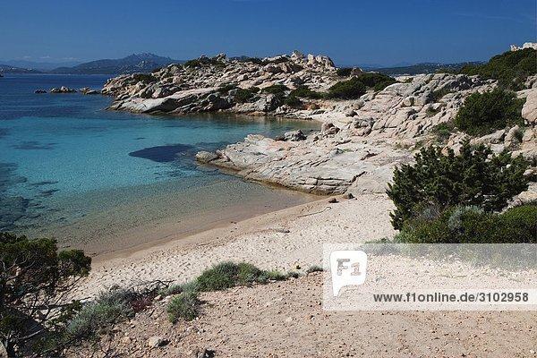 nahe Insel Heiligtum Sardinien