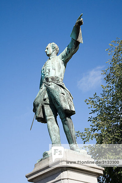 Karl XII. Statue in Stockholm