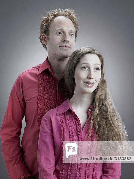 Porträt eines Kitschpaares