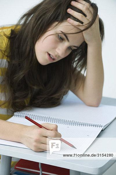 Gymnasiast studiert