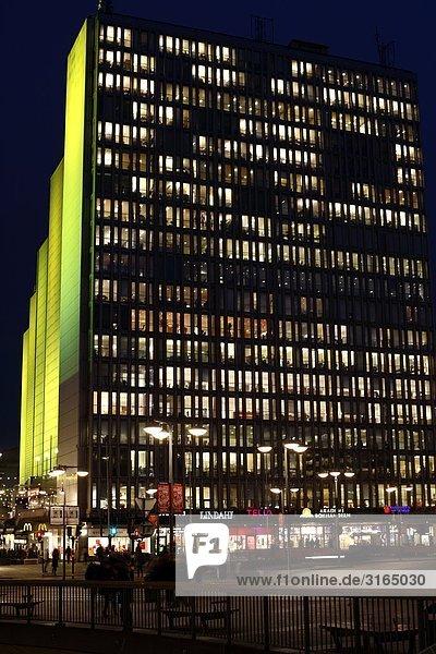 Stockholm Schweden Nacht.