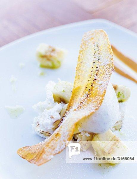 Home-Maid Eis mit Banane Schweden.