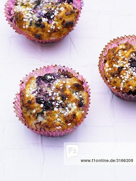 Heidelbeere Muffin.