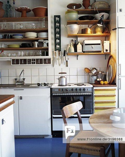 Küche Innenansicht