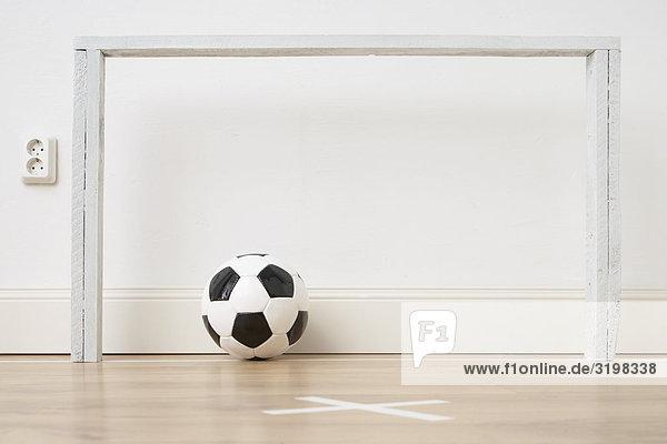 Fußball-stilleben