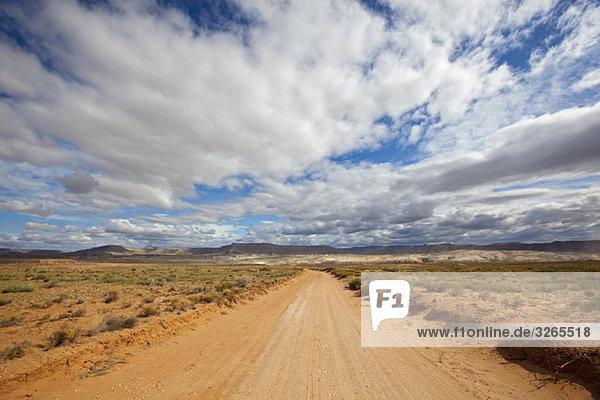 USA  Utah  Verlassene Sandbahn