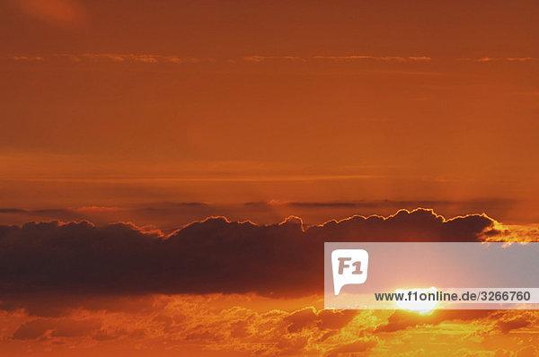 Deutschland  Sunset