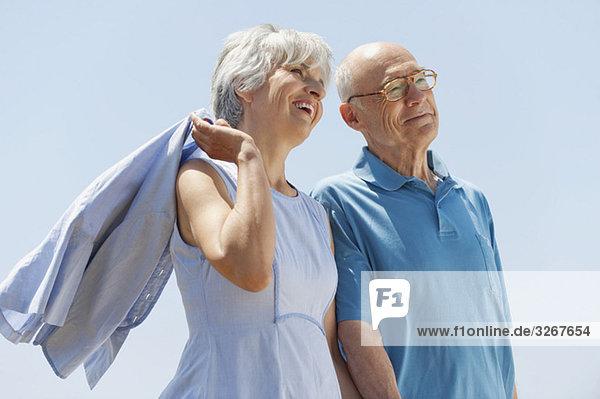 Spanien  Mallorca  Seniorenpaar  Portrait