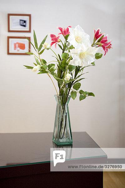 Blume Zimmer Tisch Wohnzimmer