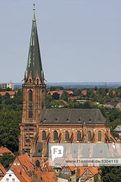 St. Nikolaikirche  Lüneburg  Niedersachsen  Deutschland