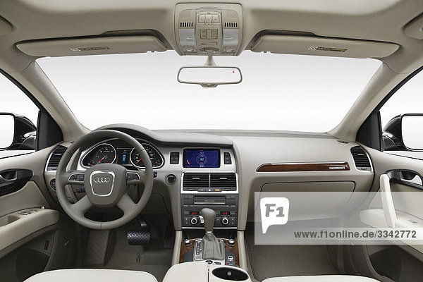 schwarz Lenkrad Audi Mittelkonsole Armaturenbrett
