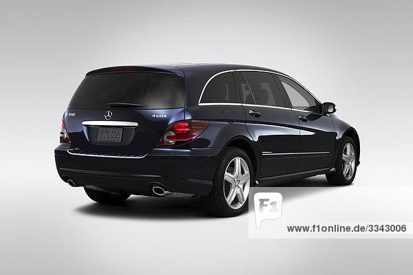 blau Rückansicht Ansicht Flachwinkelansicht Daimler-Chrysler Winkel