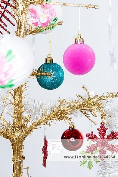Close-up Weihnachtsbaum Tannenbaum