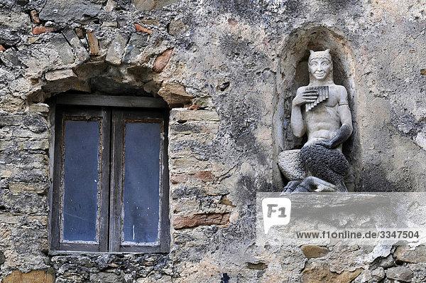 Statue Italien Ligurien