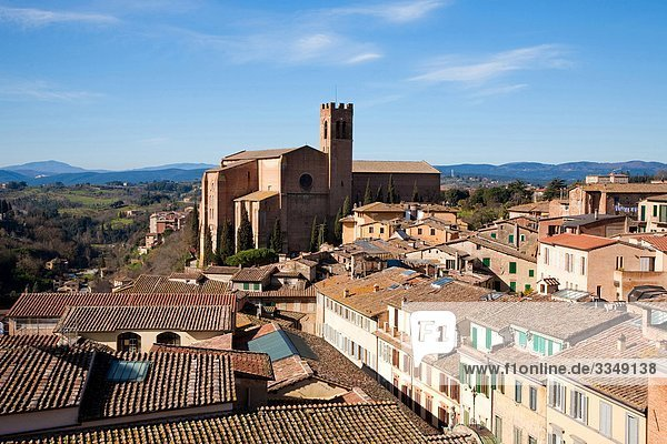 Italy  Tuscany  Siena  San Domenico church