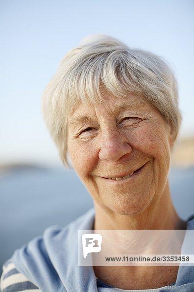 Portrait einer Frau  Schweden.