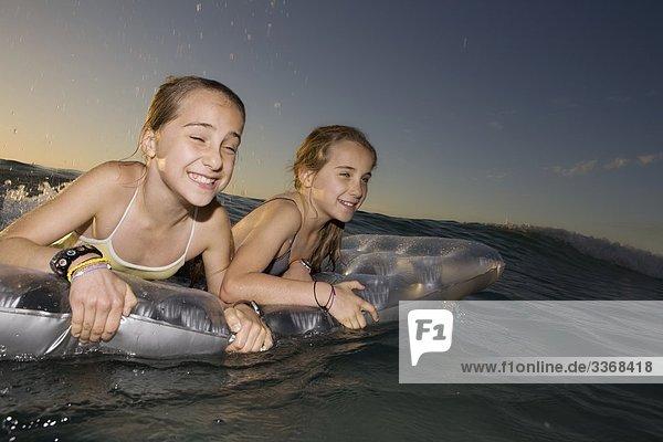 Sisters sea fun