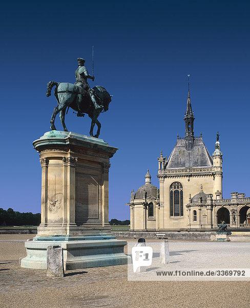 Schloss Chantilly  Oise  Frankreich