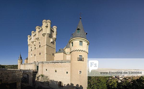 10872079  Spain  Castile  Leon  Segovia  Alcazar  castle  castle  fort  holidays  travel