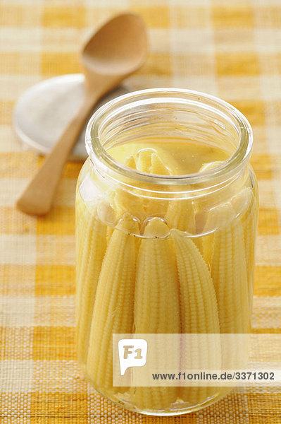 JAR Mini Mais auf die Maiskolben