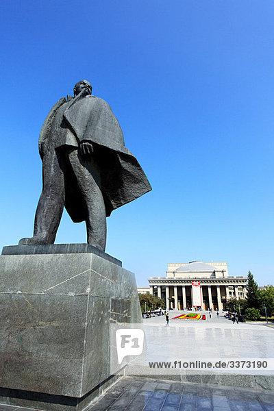 Lenin-Statue Novosibirsk
