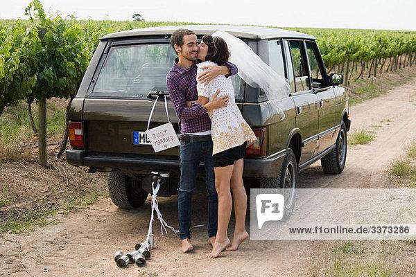 Hochzeit Verkehr