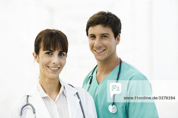 Gesundheitsexperten  Porträt