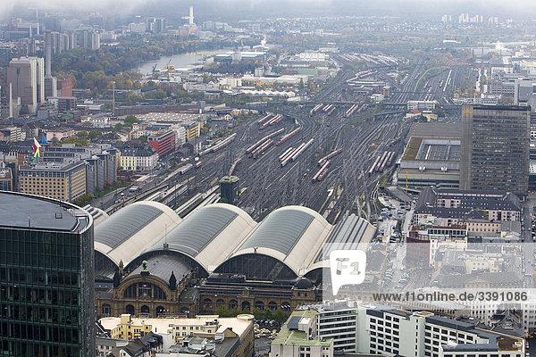 Hauptbahnhof  Frankfurt am Main  Hessen  Deutschland