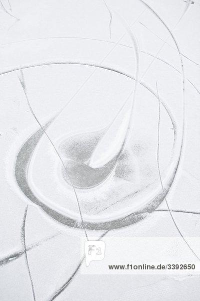 Gefrorene Oberfläche