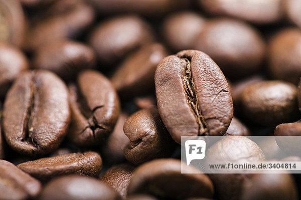 Kaffeebohnen  Close-up