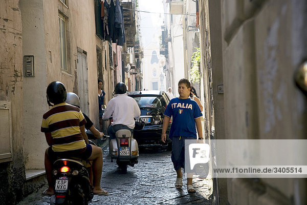Städtisches Motiv Städtische Motive Straßenszene Straßenszene Italien