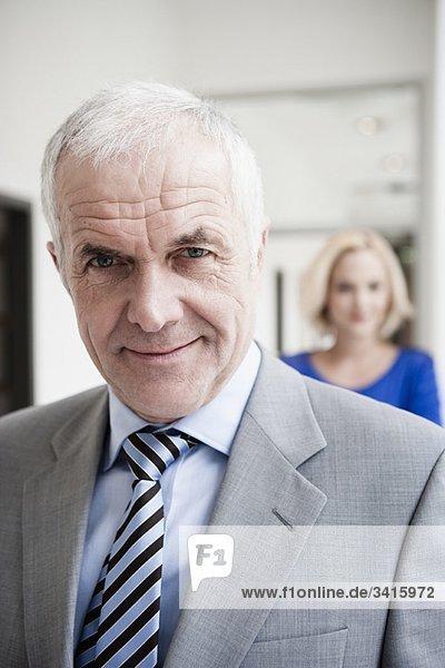 Geschäftsmann Porträt Nahaufnahme
