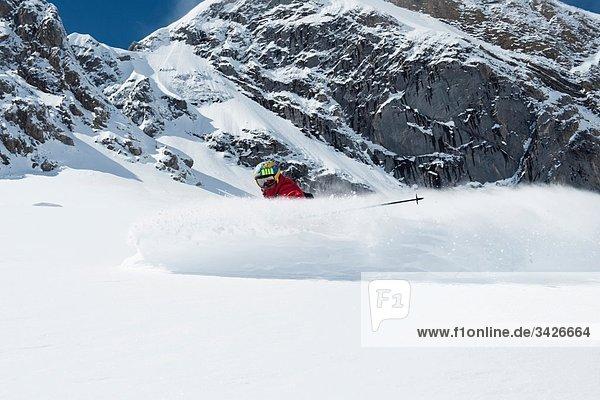 Österreich  Arlberg  Herrenabfahrt