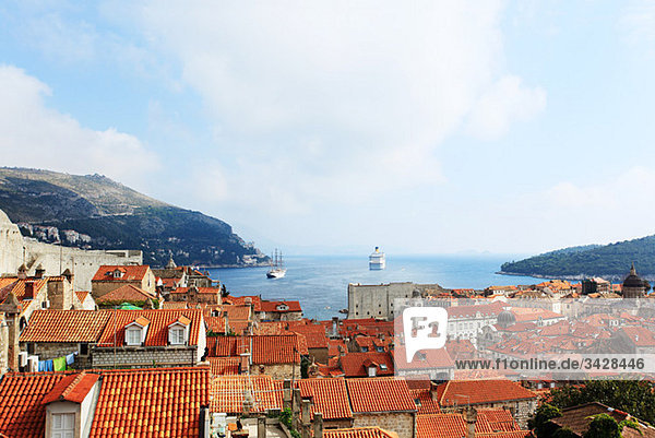 Gebäude in Dubrovnik