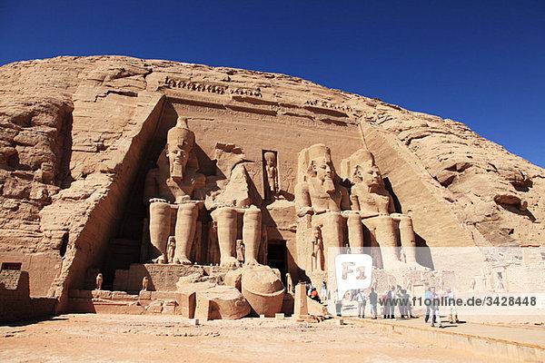 Abu Simbel Tempel Ägypten