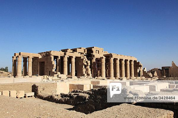 Ramesseum-Tempel Ägypten