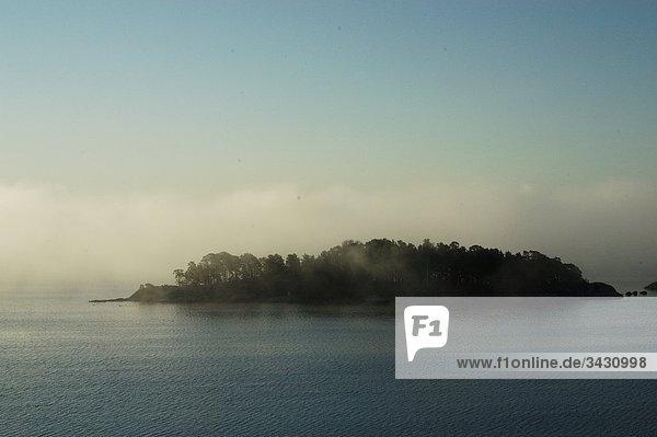 Insel an der Waterfront  Stockholm  Schweden