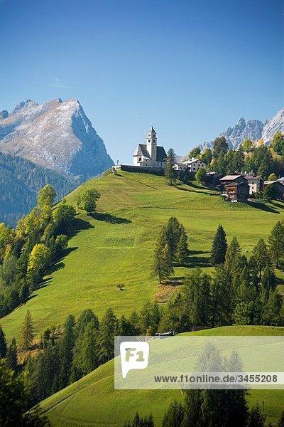 Cadore region  Dolomites  Alps  Veneto  Italy