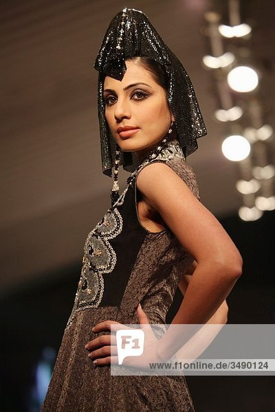 First fashionweek show in Lahore  Pakistan