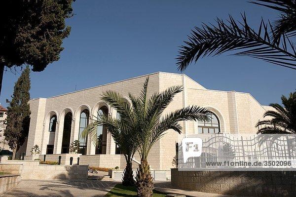 Israel  Jerusalem  Kloster Notre Dame  der Kultursaal
