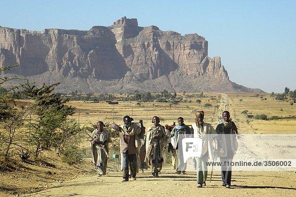 Äthiopien  Tigray Tal  Alltag